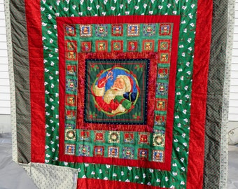 Santa Throw/Quilt