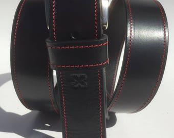 Black Leather Belt - Black Leather belt