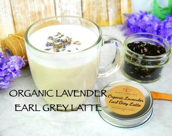 Lavender Earl Grey Latte Earl Grey Tea Diy Kit DIY gift tea gift tea kit Lavender Loose Leaf Tea Lover Gift Artisan tea Teacher gift ORGANIC