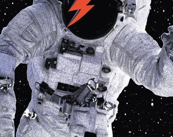 David Bowie, Major Tom Direct Download Print