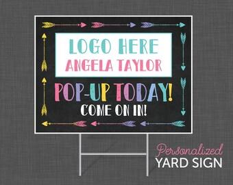 Yard Sign, Boutique, Lularoe Black, Business sign, yard sign - DIGITAL