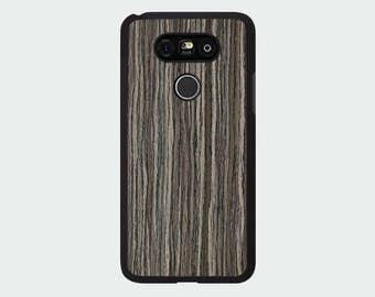 LG G5 Wood Phone Case - Silver Walnut Real Wood Case