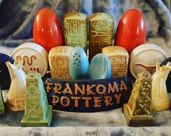 Vintage Frankoma Pottery DS-4 Dealer Sign
