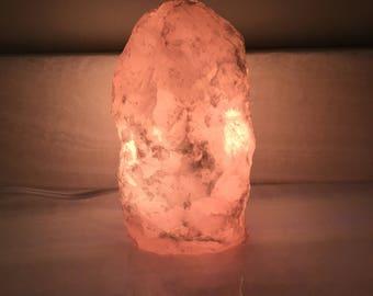 Rose Quartz Lamp