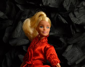 "Bathrobe ""Red rose"""
