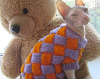 Knitted clothes for Sphinx