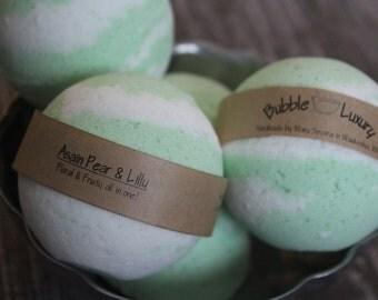 Asian Pear & Lilly Bath Bomb, Bath Bomb