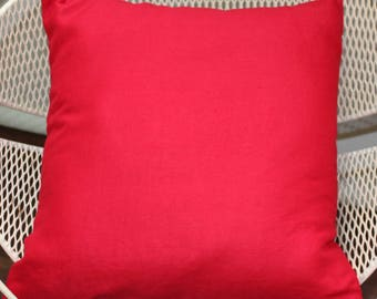 Cushion Cover - 'Red Flame'