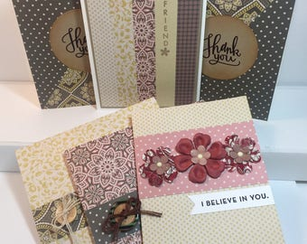 Roaring 20s Coordinating Card Set (6 count)