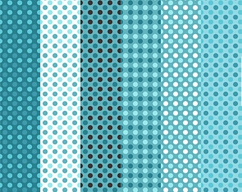 Polka dotted printable paper