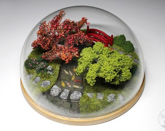 Furniture decoration: the Japanese garden