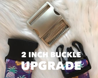 2 inch metal buckle upgrade only