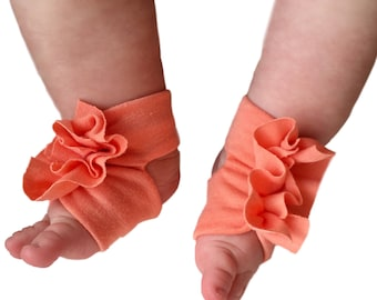 Toddler Sandals - Baby Shower Gifts Girl  - Baby Sandals - Baby Girl Socks - Coral Baby - Baby Sandals - Newborn Sandal - Baby Girl Sandals