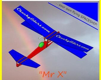 Mr X the chuck-glider