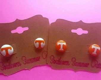 UT Power T Earrings