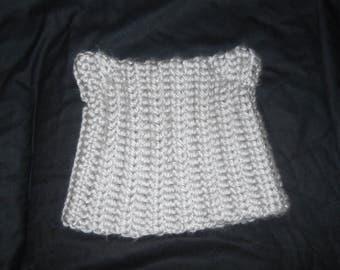 Silver Kitty Hat