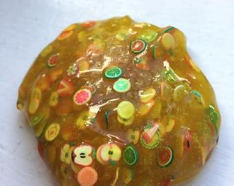 Lemon Tutti Fruity Slime