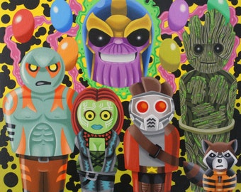 Guardians of the Galaxy Lil People