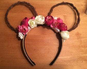 SALE Floral Disney Ears