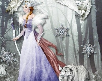 Fantasy Collection - Ice Queen and Tiger