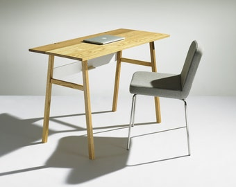 Modern Solid Oak Desk
