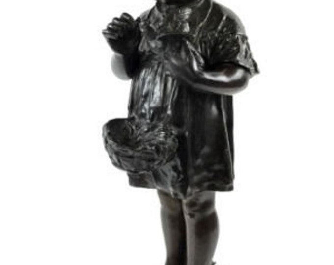 Antique E. Colin et Cie French Bronze Sculpture c. 1882-1898