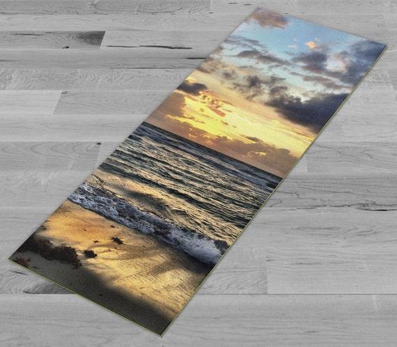 Morning Surf Yoga Mat by PimpMyYogaMat