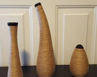 Decorative Home Accent Jars Set of 3
