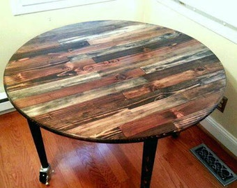Rustic Kitchen Table Distressed table