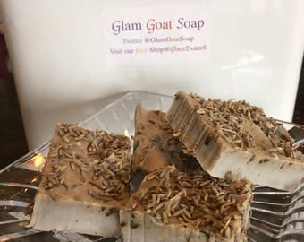 Soap with Lavender & Goats Milk Cold Process  (1 per order)