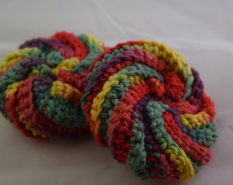 Face Scrubbies Set - Rainbow