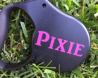 Custom Pet Name for Dog Leash