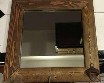 Mirror Coat Rack Etsy