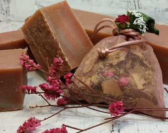 Natural vegetable SOAP Strawberry BON-BON