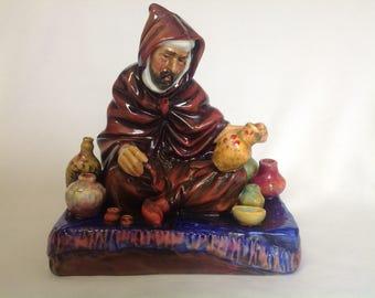 "Vintage Royal Doulton HN 1493  "" The Pottet ""  Figurine"