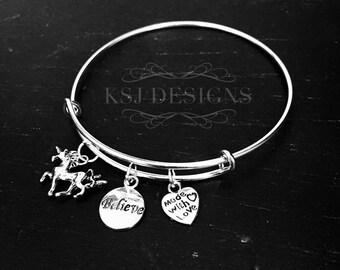 LuLaRoe Inspired Unicorn Charm Bracelet