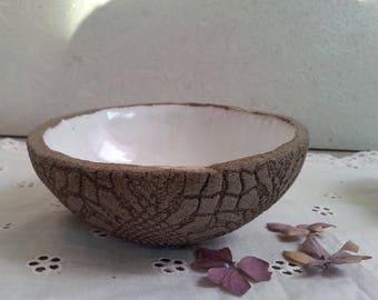Ceramic dish small bowl