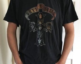 Vintage 90's Guns N Roses tee