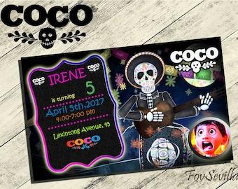 coco invitations, invitations coco, printables coco invitations, birthday coco, coco birthday, coco printables,coco disney,coco invitaciones