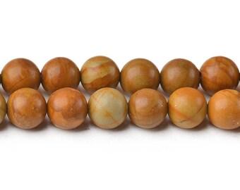 8mm wooden jasper beads natural wood jasper beads wooden gemstone wooden stone round wooden beads prayer beads for mala full strand gemstone