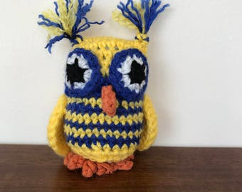 Small Crocheted Owl