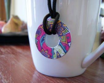 Handmade Washer Necklace
