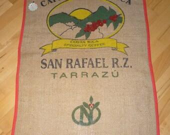 "Coffee bag table runner ""San Rafael"", 89 x 67 cm"