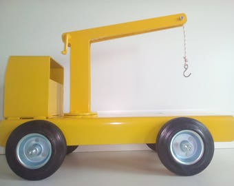 Tow truck, wrecker, Tow, Yellow tow truck, Winch