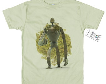 Laputa's Guardian Robot T shirt 3D Artwork, Castle in the Sky