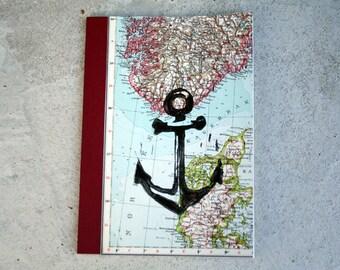 Anchor * DinA5 travel diary - notebook