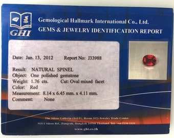 Red Spinal 1.76 cts