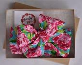 Rosie Head Wrap, Rosie Headwrap, Floral Headwrap, Floral Head Wrap, Headwrap, Head Wrap, Baby Turban, Toddler Turban