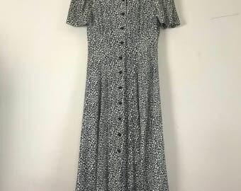 Jamie Brooke Floral Midi Dress