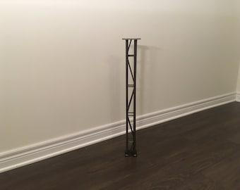 Crane Truss Free Standing Bench Legs - Metal
